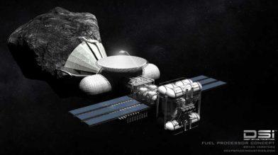 Люксембург будет добывать на астероидах полезные ископаемые