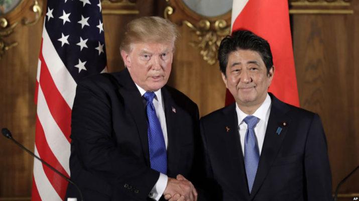 Трамп призвал Японию к более взаимовыгодной торговле