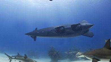 Представлена подводная лодка для 3 пассажиров