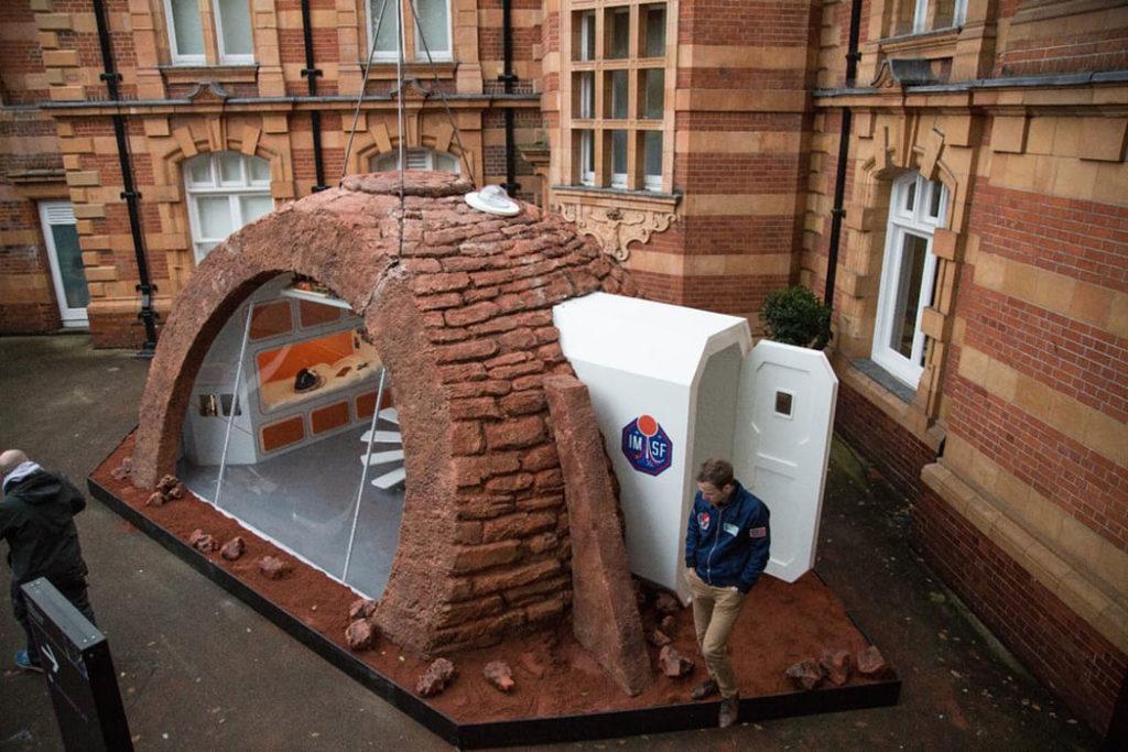 Ученые презентовали дом для будущих колонистов Марса