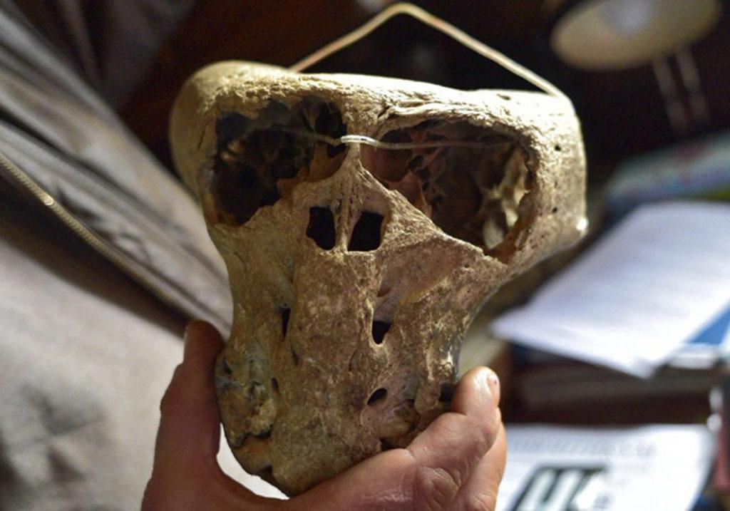 В горах Адыгеи обнаружены следы пришельцев