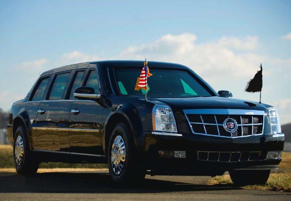 Лимузин Дональда Трампа 7 метров, запас крови и нитрос