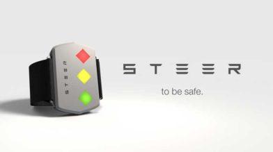 STEER «электрошокер браслет» для сонных водителей
