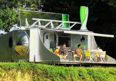 Складной дом sCarabane, автономный отдых на природе
