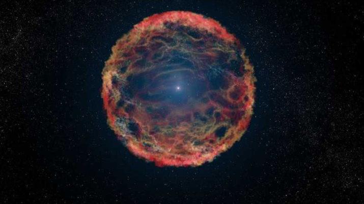 Астрономы нашли «бессмертную» сверхновую звезду