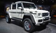Новый внедорожник Mercedes-Maybach G 650 Landaulet