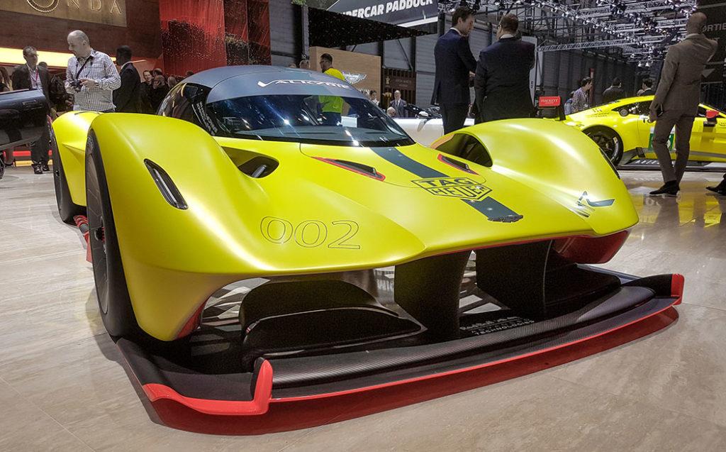 «Валькирия» новый английский гоночный автомобиль