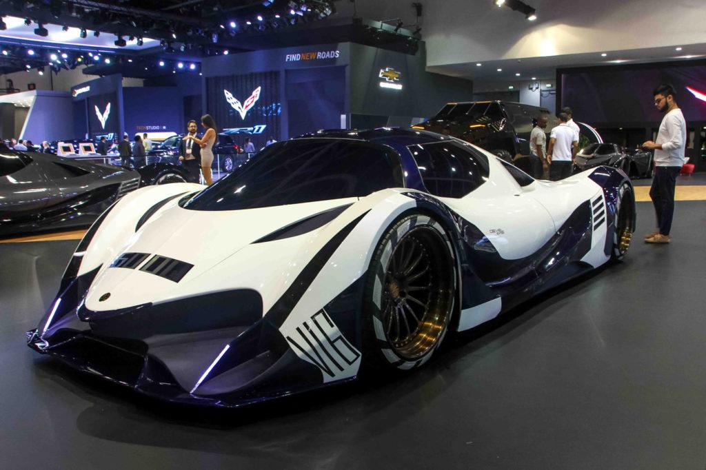 В Дубае показали 12-литровый гиперкар мощностью 5000 л.с.