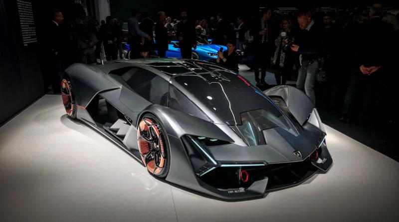 Lamborghini Terzo Millennio — сам восстанавливается