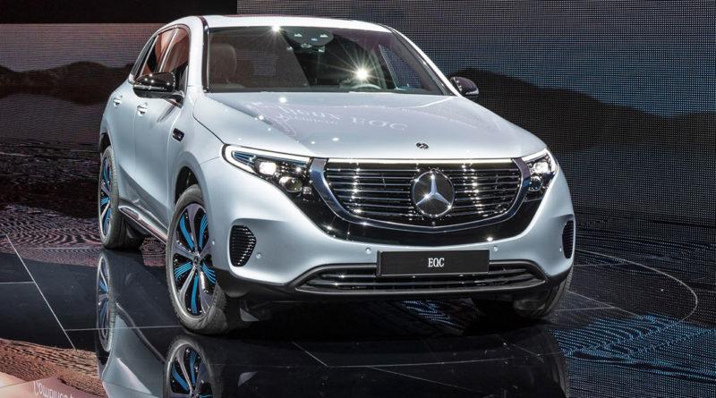 Новый электрокар Mercedes-Benz EQC