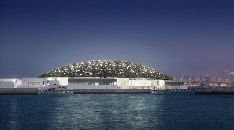 Новый музей Лувр за миллиард в песках Абу-Даби